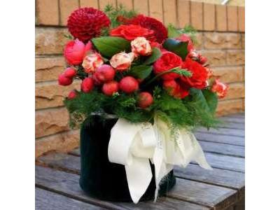 Цветы в бархате