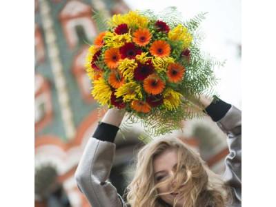 Как дарить цветы?