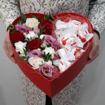 Коробка-сердце Валентинка