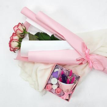 Подарочный набор Розы и презент