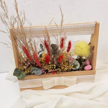 Пасхальный ящик весна