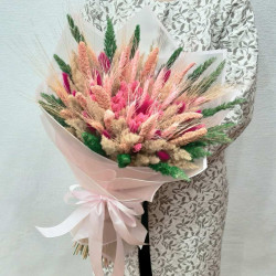 Букет из сухоцветов Цветущая Сакура
