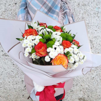 Букет из цветов Комплимент