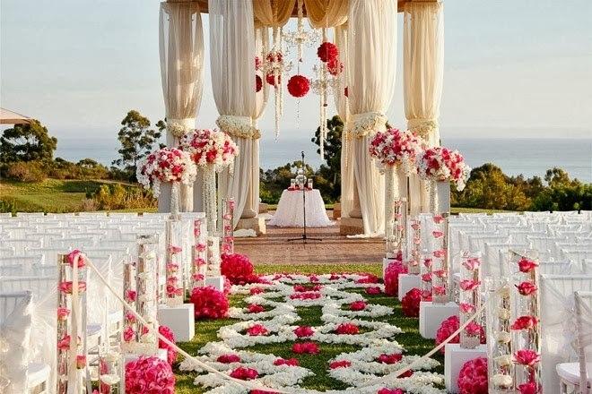 Свадебный интерьер для
