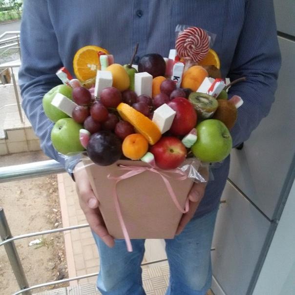 фруктовый букет саранск от Fiori+Flowers